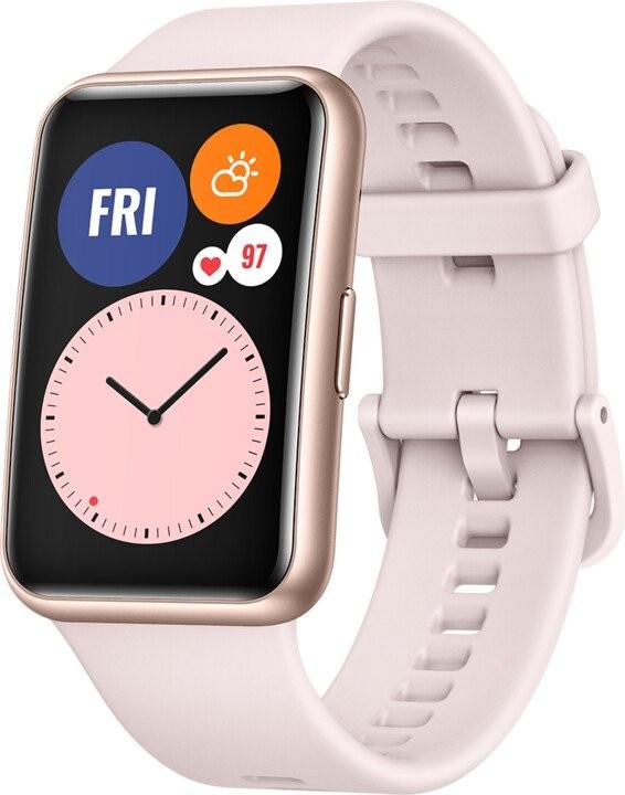 Smart hodinky SMART hodinky Huawei Watch Fit, ružová
