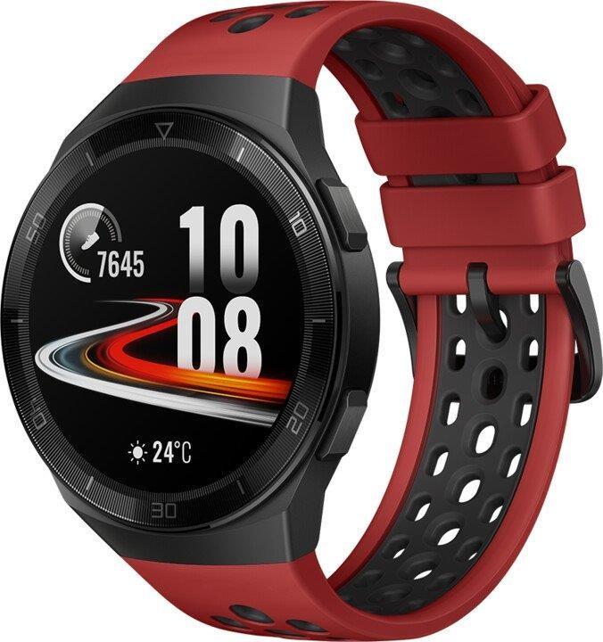 Smart hodinky Smart hodinky Huawei Watch GT 2e, červená