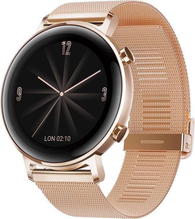 Smart hodinky Smart hodinky Huawei Watch GT2 42 mm, zlatá