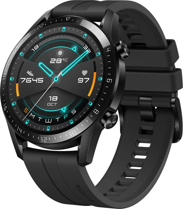 Smart hodinky Smart hodinky Huawei Watch GT2, čierna