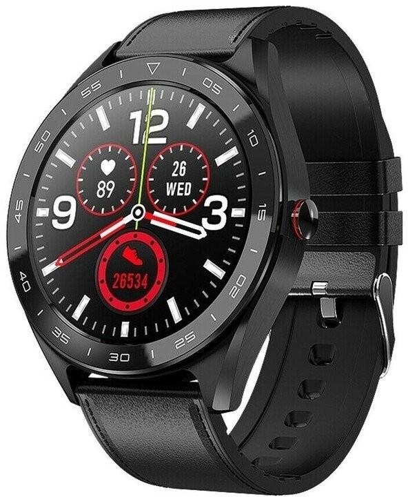 Smart hodinky Smart hodinky Immax Own Face, čierna