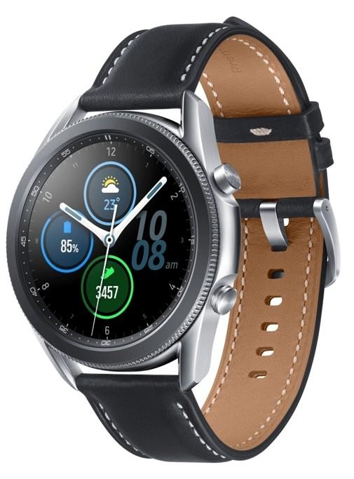 Smart hodinky Smart hodinky Samsung Galaxy Watch 3, 45mm, strieborná