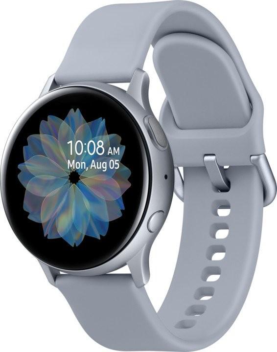 Smart hodinky Smart hodinky Samsung Galaxy Watch Active 2, 40 mm, striebor