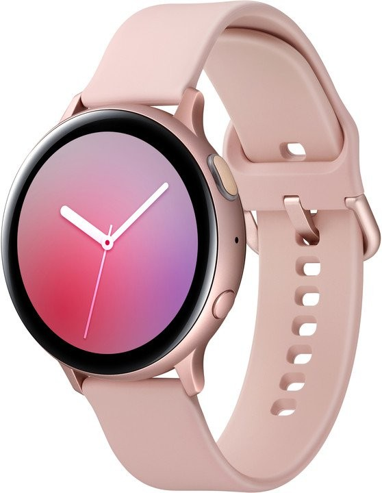 Smart hodinky Smart hodinky Samsung Galaxy Watch Active 2, 44 mm, ružovozlatá