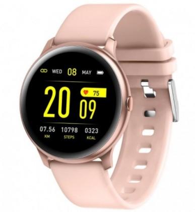 Smart hodinky Smart hodinky Smartomat Roundband 2, ružová