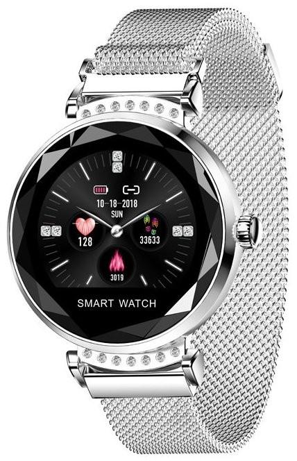 Smart hodinky Smart hodinky Smartomat Sparkband, strieborná