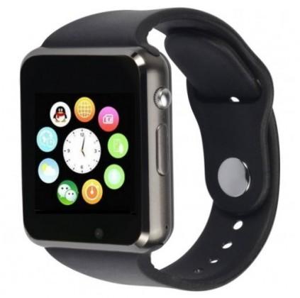 Smart hodinky Smart hodinky Smartomat Squarz 1, čierna