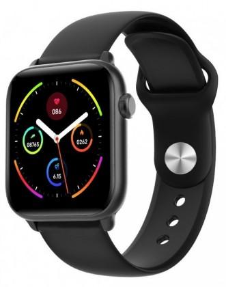 Smart hodinky Smart hodinky Smartomat Squarz 8 Pro, čierna