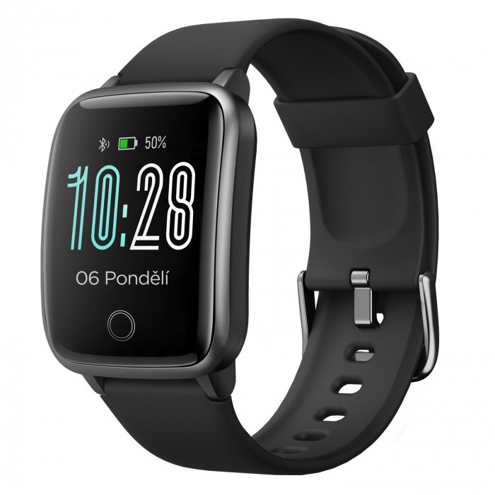 "Smart hodinky Smart hodinky Umax Band P2, 1,3 "", IP68, čierna"