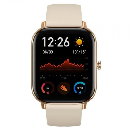 Smart hodinky Smart hodinky Xiaomi Amazfit GTS, zlatá