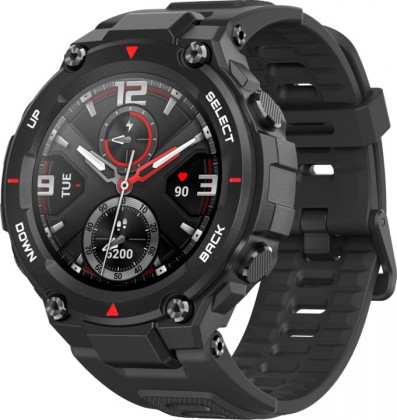Smart hodinky Smart hodinky Xiaomi Amazfit T-Rex, Rock Black