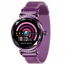 Smart hodinky Smartomat Sparkband, fialová