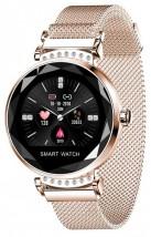 Smart hodinky Smartomat Sparkband, zlatá