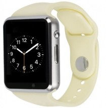 Smart hodinky Smartomat Squarz 1, biela