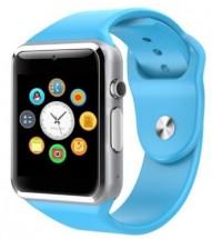 Smart hodinky Smartomat Squarz 1, modrá