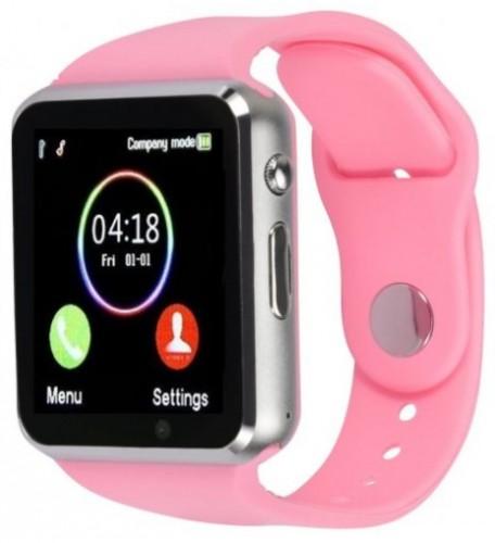 Smart hodinky Smartomat Squarz 1, ružová