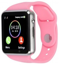 Smart hodinky Smartomat Squarz 1, ružová POUŽITÉ, NEOPOTREBOVANÝ