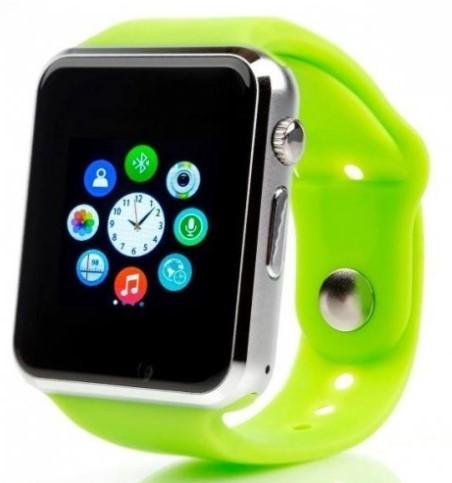 Smart hodinky Smartomat Squarz 1, zelená