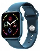 Smart hodinky Smartomat Squarz 8 Pro, modrá