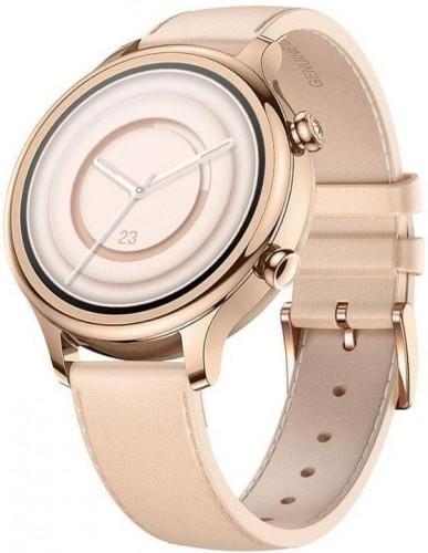 Smart hodinky TicWatch C2 Plus, ružovo-zlaté