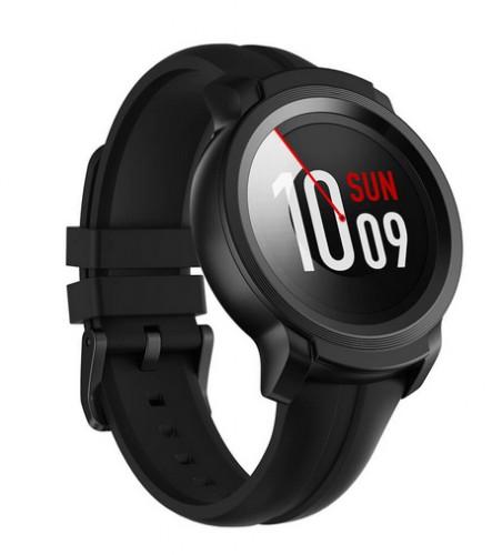 Smart hodinky TicWatch E2, čierne