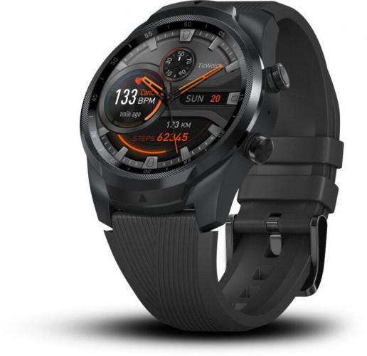 Smart hodinky TicWatch Pro 4, čierna