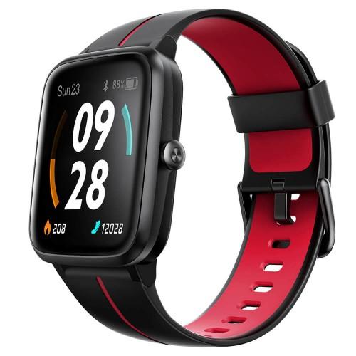 Smart hodinky UleFone Watch GPS, červené