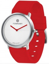 Smart hybridné hodinky Noerden Life 2, červená
