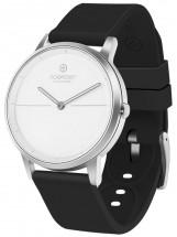 Smart hybridné hodinky Noerden Mate 2, bielo/čierna