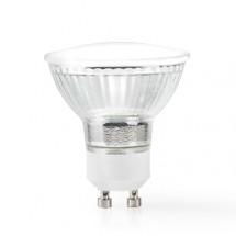 SMART LED žiarovka Nedis WIFILC10CRGU10, GU10, farebná/biela