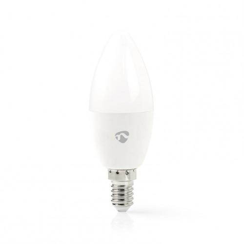 SMART LED žiarovka Nedis WIFILC11WTE14, E14, farebná/biela