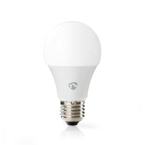 SMART LED žiarovka Nedis WIFILC11WTE27, E27, farebná/biela