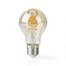 SMART LED žiarovka Nedis WIFILT10GDA60, E27, 5,5W, guľatá, biela