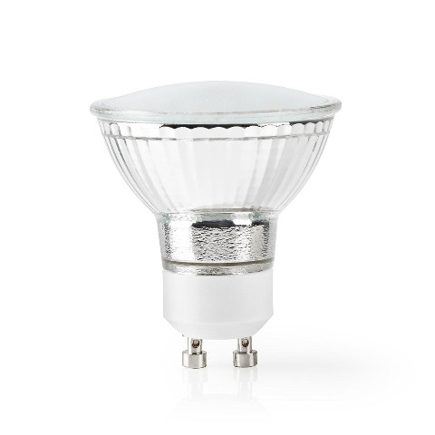SMART LED žiarovka Nedis WIFILW10CRGU10, GU10, biela
