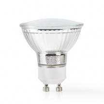 SMART LED žiarovka Nedis WIFILW11CRGU10, GU10, teplá biela