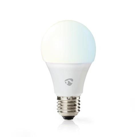 SMART LED žiarovka Nedis WIFILW13WTE27 E27, biela