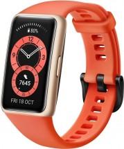 Smart náramok Huawei Band 6, oranžový
