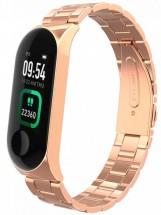 Smart náramok Smartomat Sunset 4 Pro kovový, zlatá