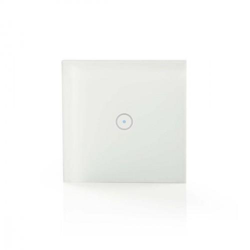 SMART spínač osvetlenia Nedis WIFIWS10WT, jednoduchý