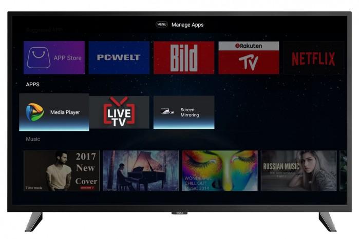 "Smart televízor 50UHD123T2S2SM (2021) / 50"" (126 cm)"