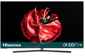 "Smart televízor Hisense H55O8B (2019) / 55"" (138 cm) + Soundbar v hodnote 94,90 €"