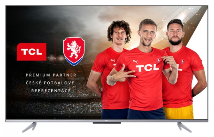 "Smart televízor TCL 43P725 (2021) / 43"" (108 cm)"