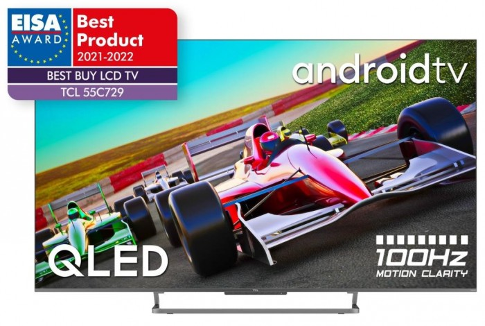 "Smart televízor TCL 55C729 (2021) / 55"" (139 cm)"