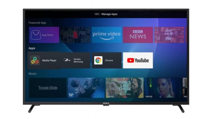 "Smart televízor Vivax 55UHDS61T2S2SM (2021) / 55"" (139 cm)"