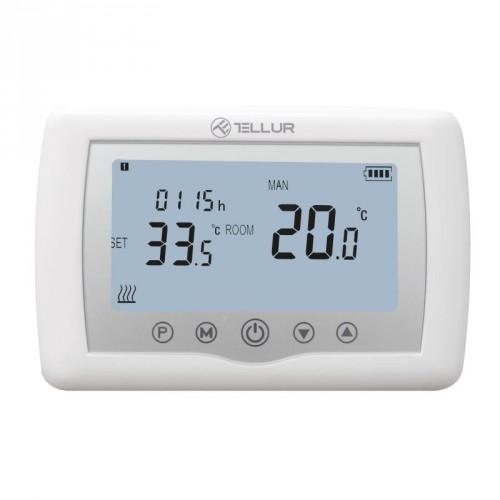 SMART WiFi termostat Tellur, biely