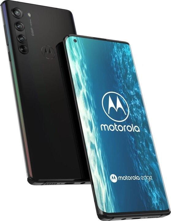 Smartfón Mobilný telefón Motorola Edge 5G 6GB/128GB, čierna