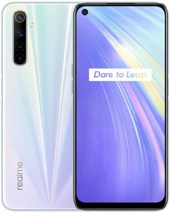 Smartfón Mobilný telefón Realme 6 8GB/128GB, biela