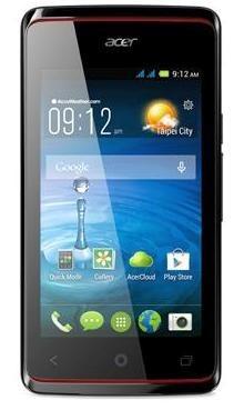 Smartphone Acer Liquid Z200 čierny