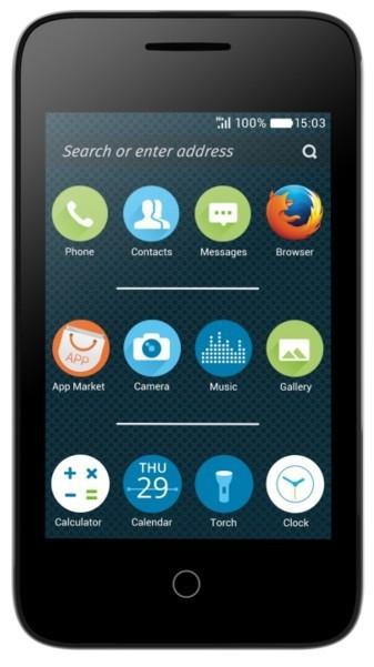 Smartphone Alcatel Pixi 3 OT-4022D, biely