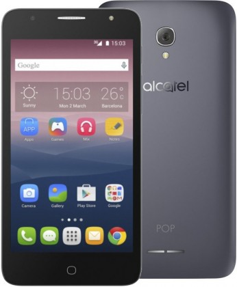 Smartphone Alcatel POP 4+ OT-5056D, čierna/sivá